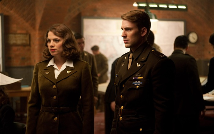 Captain America-The First Avenger HD Movie Wallpaper 33 Views:4785