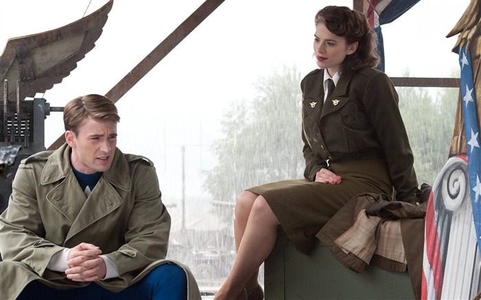 Captain America and Peggy Carter-Captain America-The First Avenger HD Movie Wallpaper 34 Views:7868