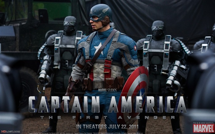 Captain America-The First Avenger HD Movie Wallpaper Views:16918