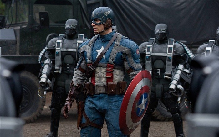 Captain America VS Hydra-Captain America-The First Avenger HD Movie Wallpaper Views:9675