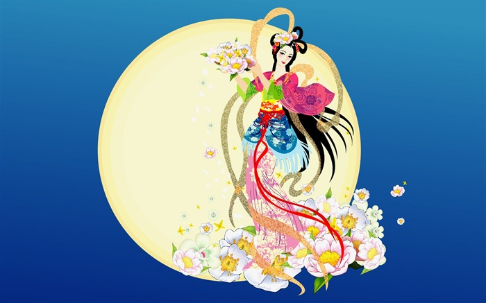 Chang-e flies to the moon- Mid-Autumn Festival special edition wallpaper 06 Views:5713