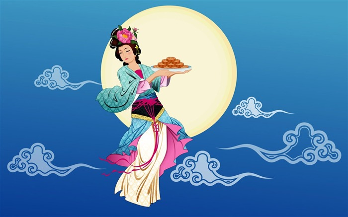 Chang-e flies to the moon- Mid-Autumn Festival special edition wallpaper 11 Views:2712