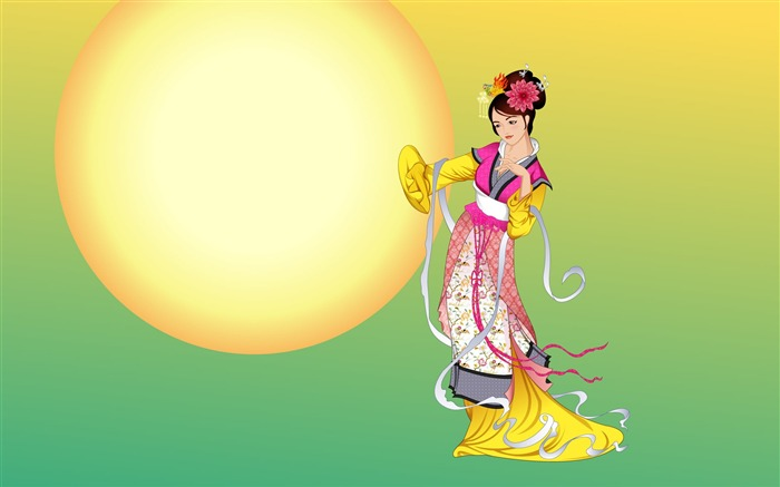 Chang-e flies to the moon- Mid-Autumn Festival special edition wallpaper 12 Views:3959
