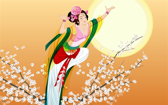 Chang-e flies to the moon- Mid-Autumn Festival special edition wallpaper 14 Views:4254