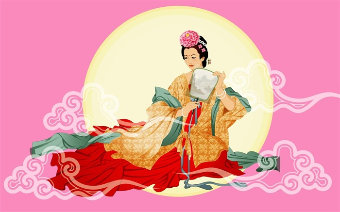 Chang-e flies to the moon- Mid-Autumn Festival special edition wallpaper 17 Views:6089