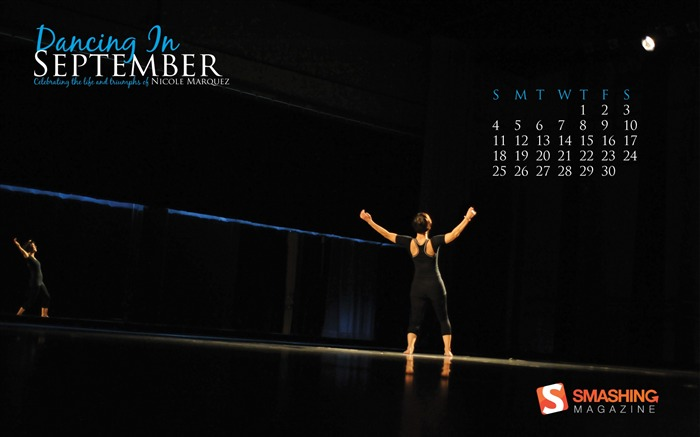 Dance-September 2011-Calendar Desktop Wallpaper Views:4963