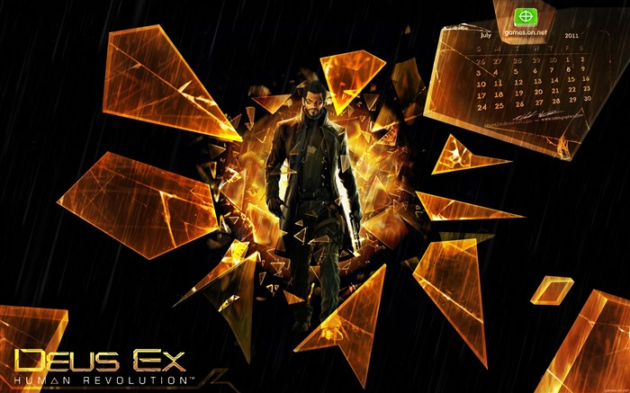 Deus Ex- Human Revolution Game HD Wallpaper Views:6898