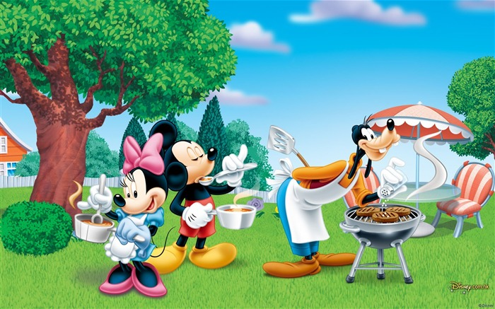 Disney cartoon - Mickey - Mickey Mouse wallpaper second series Views:36181