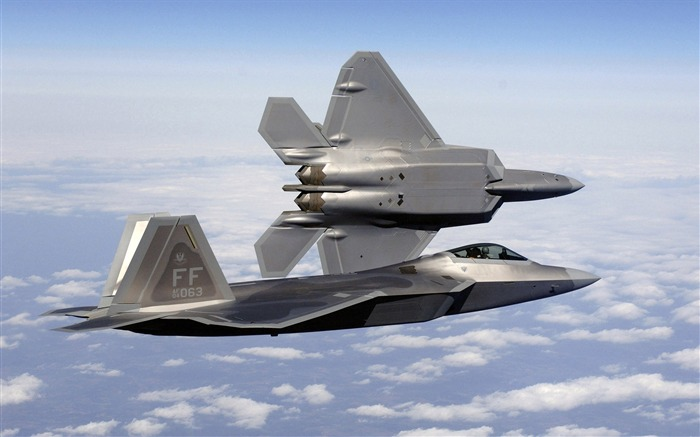 FA 22A Raptor Fighter- military aircraft - HD Wallpaper Views:18939