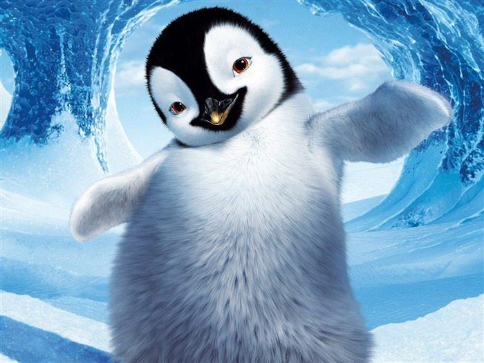 Happy Feet HD movie wallpaper Views:9150
