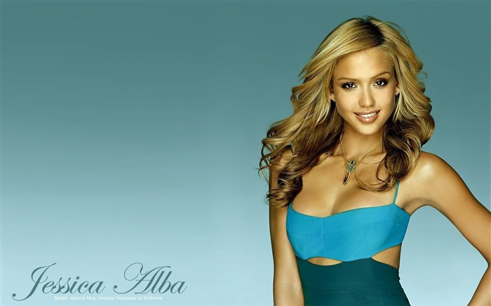 Jessica Alba- sexy burning in the sunset wallpaper 03 Views:13075