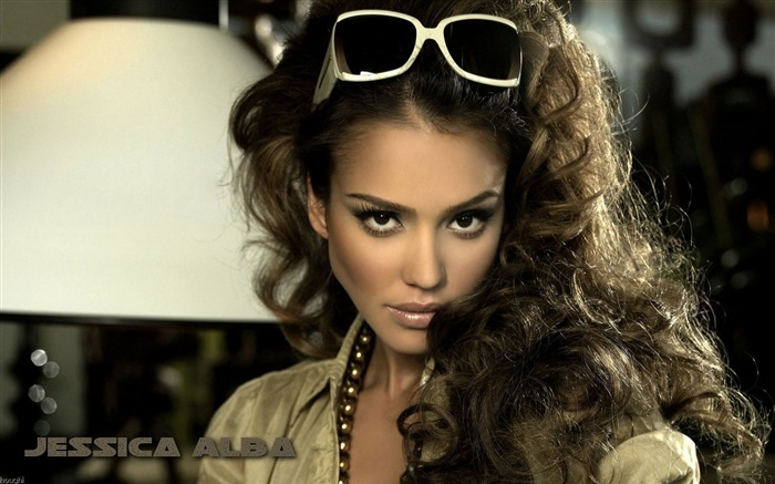 Jessica Alba- sexy burning in the sunset wallpaper 17 Views:4770
