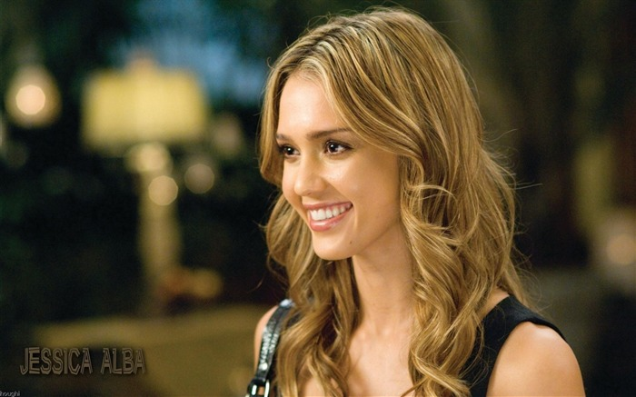 Jessica Alba- sexy burning in the sunset wallpaper Views:13387