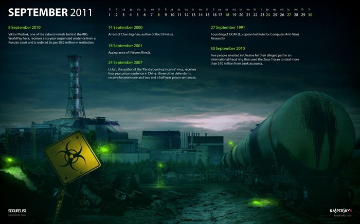 Kaspersky-September 2011-Calendar Desktop Wallpaper Views:6224