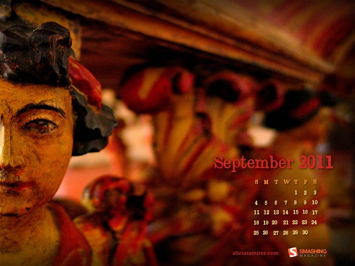 La Mesa-September 2011-Calendar Desktop Wallpaper Views:5060