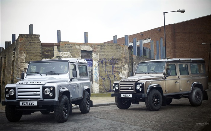 Land Rover Defender Series desktop wallpaper Views:9941