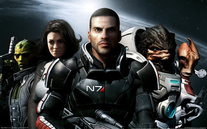 Mass Effect 2 Game HD Wallpaper Views:6934