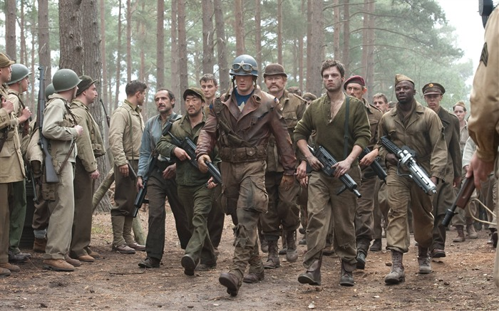 On The Move-Captain America-The First Avenger HD Movie Wallpaper Views:8026