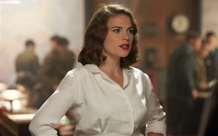 Peggy-Captain America-The First Avenger HD Movie Wallpaper Views:13611