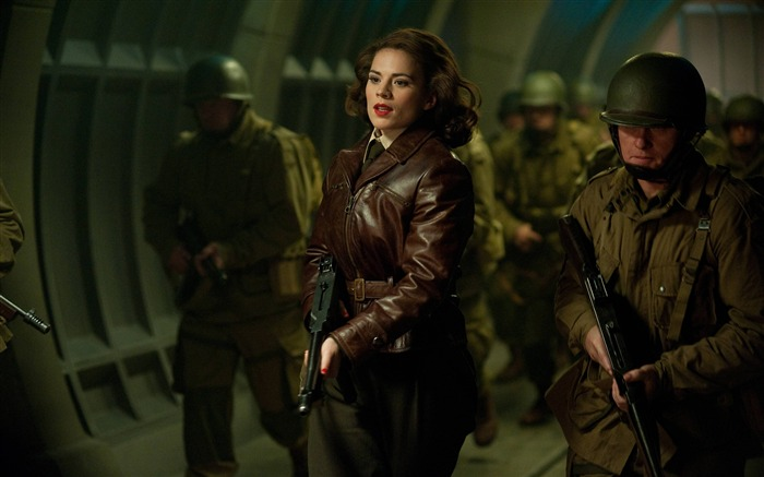 Peggy Carter-Captain America-The First Avenger HD Movie Wallpaper Views:10282