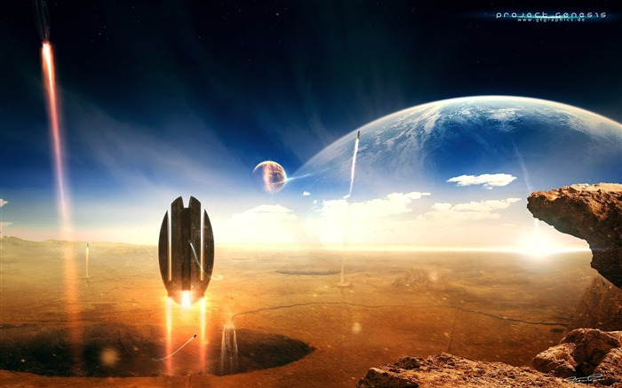 Sci-Fi Space Art-Masterpieces Sci-Fi Digital Artworks Views:14086