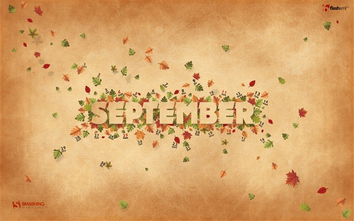September Bliss-September 2011-Calendar Desktop Wallpaper Views:4891