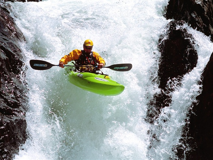 Single kayak- SPORT Wallpaper Views:5792