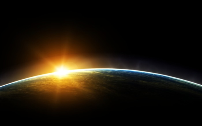 Sunrise Earth from space-Explore the secrets of the universe HD allpaper Views:176937