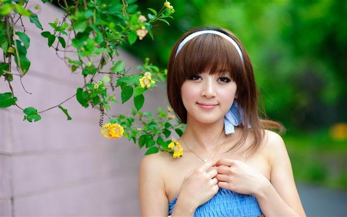 Taiwan beautiful girl MM mika wallpaper fourth series Views:23768