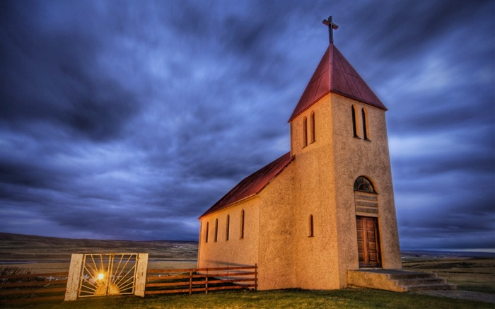 The Abaondoned Church on the Icelandic Tundra Views:4766