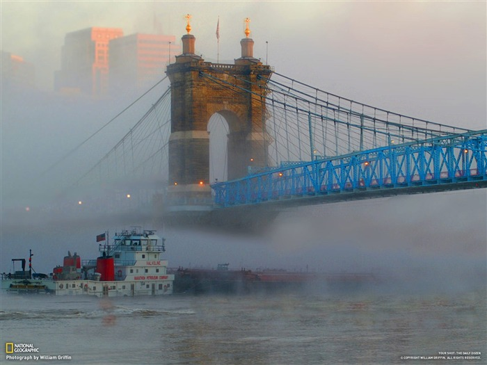 The Ohio River fog-National Geographic-Photo of the Day Views:11844