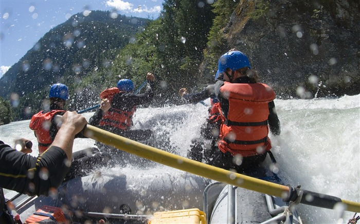 The thrill of rafting-Life is the challenge Views:6259