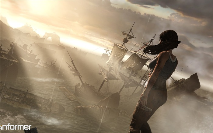 Tomb Raider 2012 Game HD Wallpaper 13 Views:10031