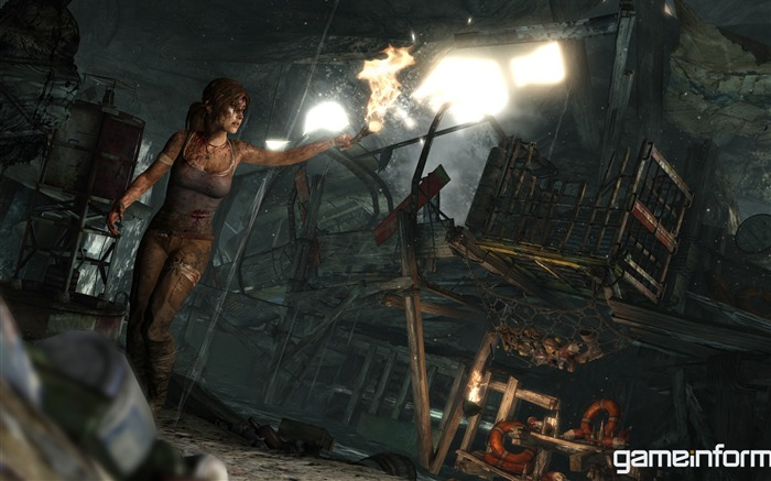 Tomb Raider 2012 Game HD Wallpaper 20 Views:6012