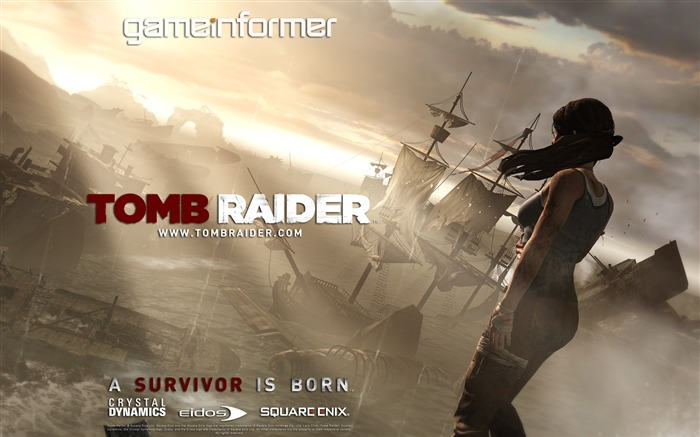 Tomb Raider 2012 Game HD Wallpaper 24 Views:4956