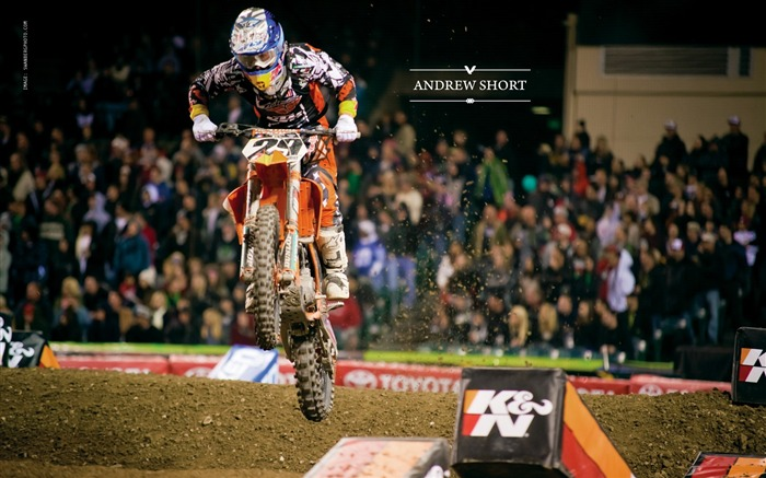 AMA Supercross Anaheim-the first stop-Andrew Short wallpaper Views:4755