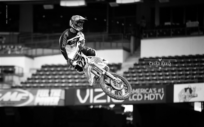 AMA Supercross Anaheim-the first stop-Chad Reed Wallpaper Views:7511