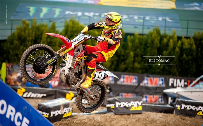 AMA Supercross Anaheim-the first stop-Eli Tomac wallpaper Views:5432