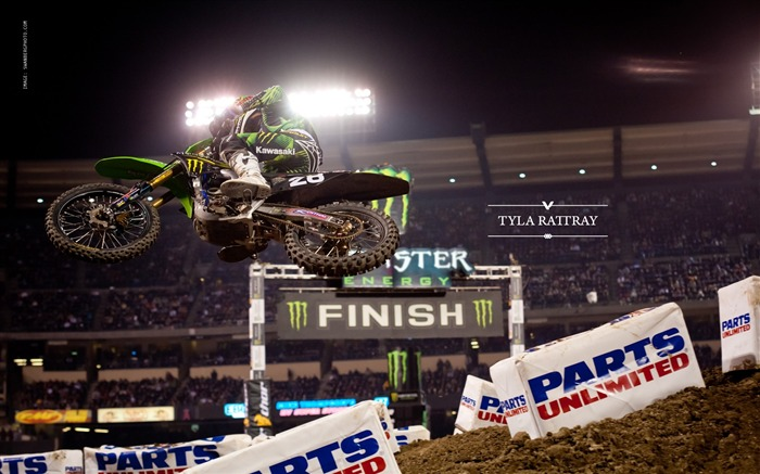 AMA Supercross Anaheim-the first stop-Tyla Rattray wallpaper Views:4496