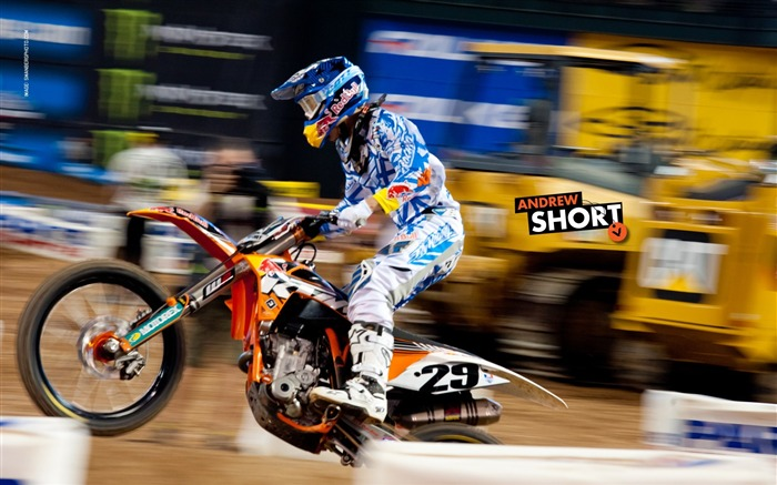 AMA Supercross Phoenix-the second stop-Andrew Short wallpaper Views:3549