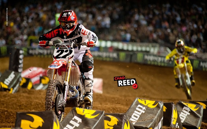 AMA Supercross Phoenix-the second stop-Chad Reed Wallpaper Views:10190