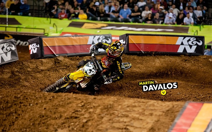 AMA Supercross Phoenix-the second stop-Martin Davalos wallpaper Views:3461