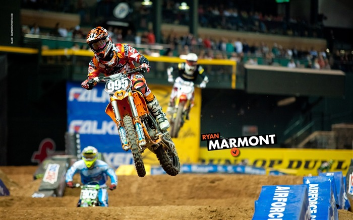AMA Supercross Phoenix-the second stop-Ryan Marmont wallpaper Views:3700