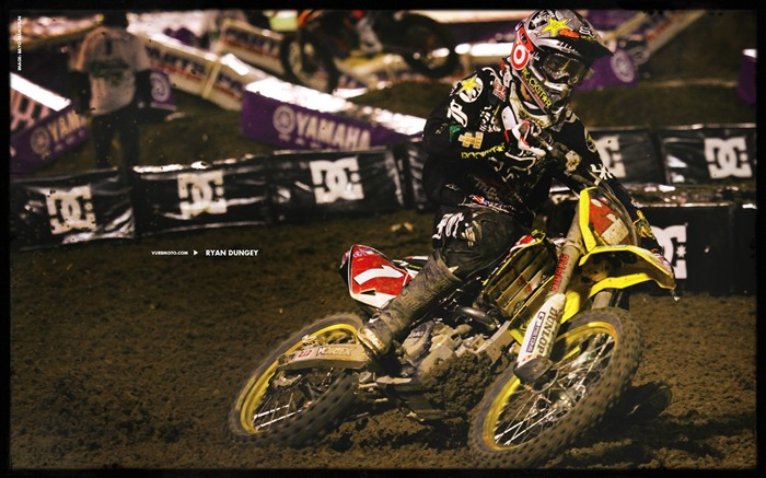 AMA Supercross fourth stop Auckland-Ryan Dungey wallpaper Views:5962