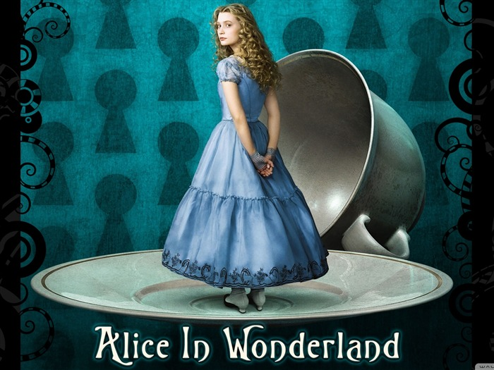 Alice in Wonderland Movie HD Wallpaper Views:17270
