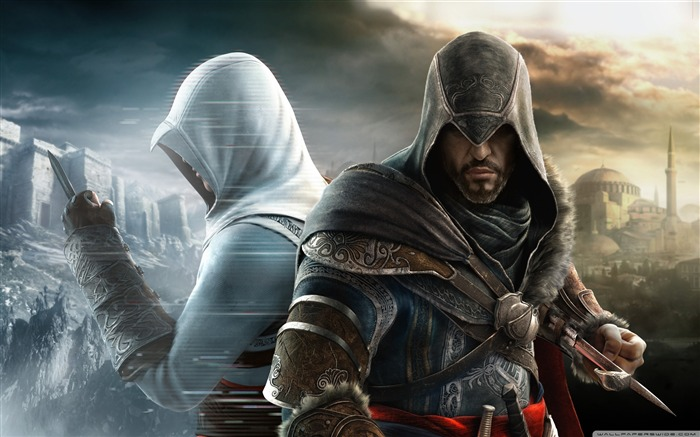 Assassin Creed Brotherhood Game Wallpaper second series Views:11517