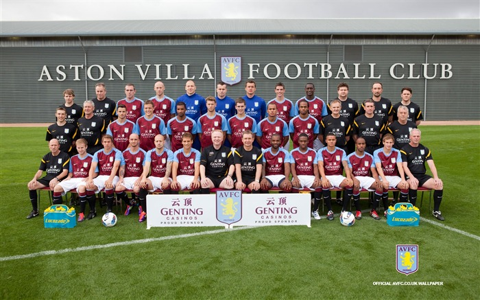 Aston Villa football club desktop wallpaper Views:10142