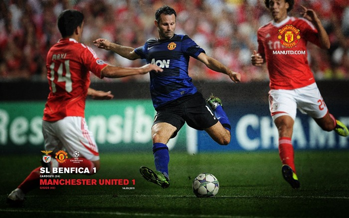 Benfica 1 Manchester United 1-Premier League matches in 2011 Views:6415