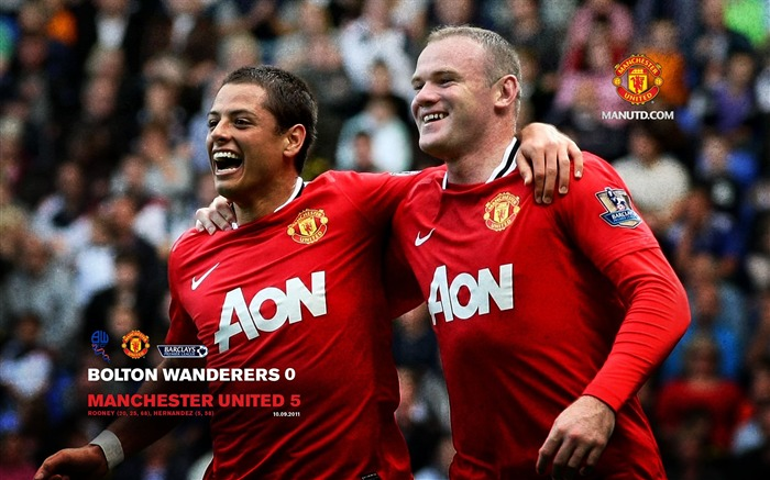 Bolton 0 United 5-Premier League matches in 2011 Views:6650
