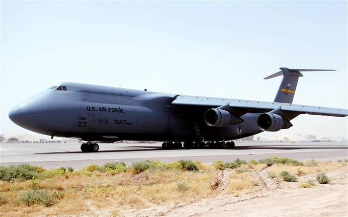 C5 Galaxy at Balad Air Base Iraq-Years of peace-military aircraft Views:6845